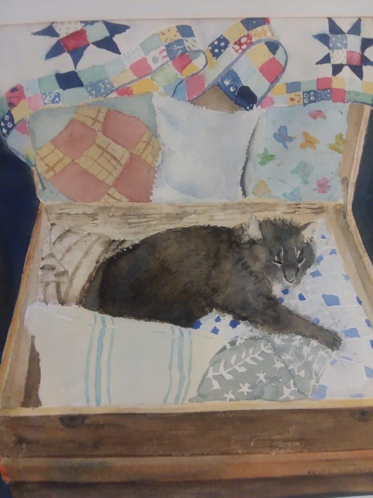 Cat Nap by Michael Delaney