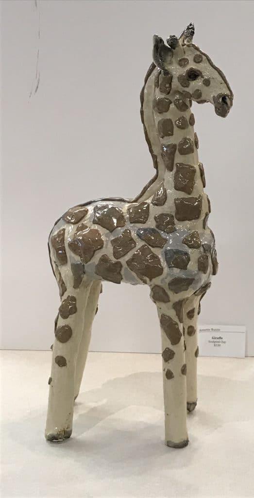 Giraffe by Annette Russo